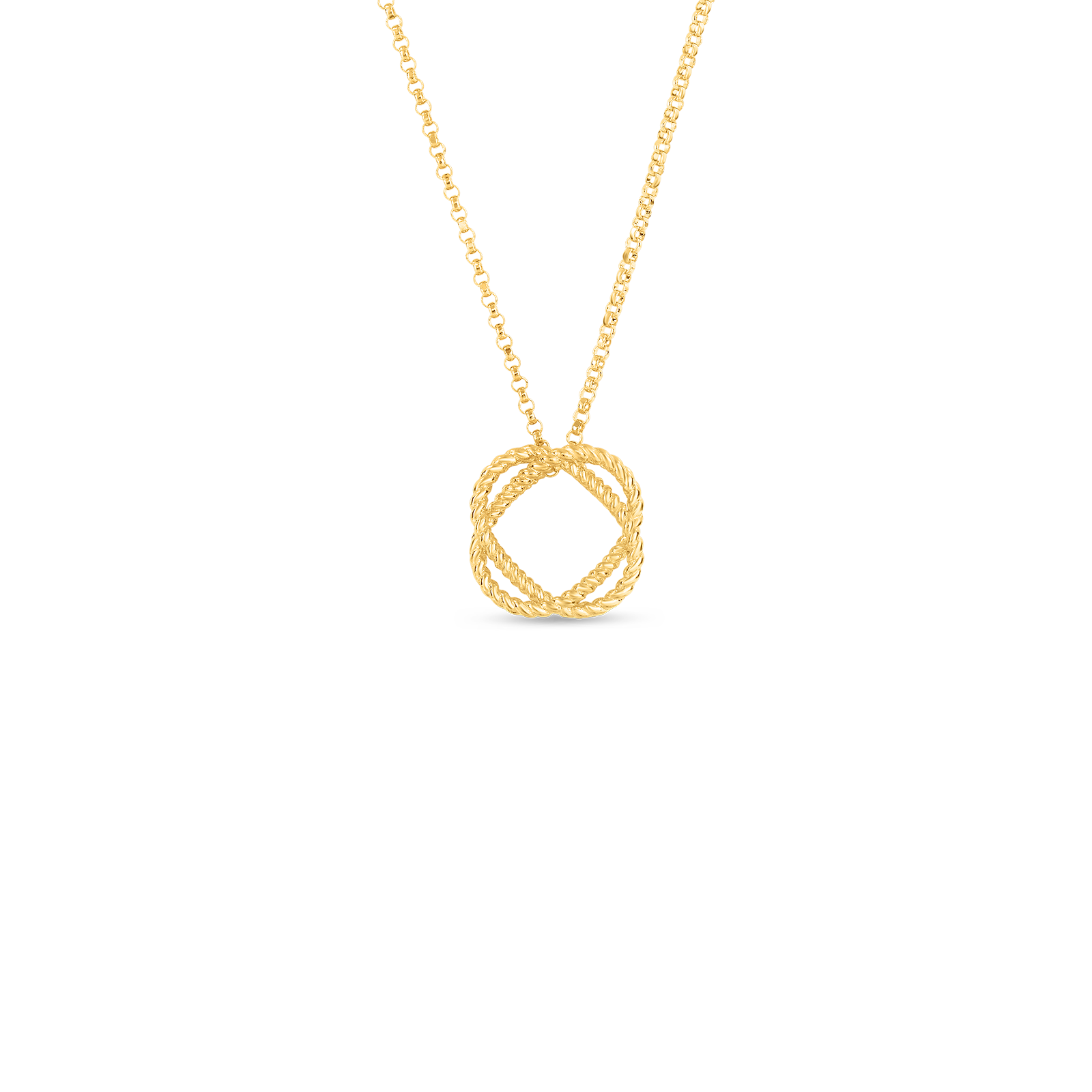 Roberto coin new barocco jewelry collection official us website new baroccocircle pendant aloadofball Choice Image