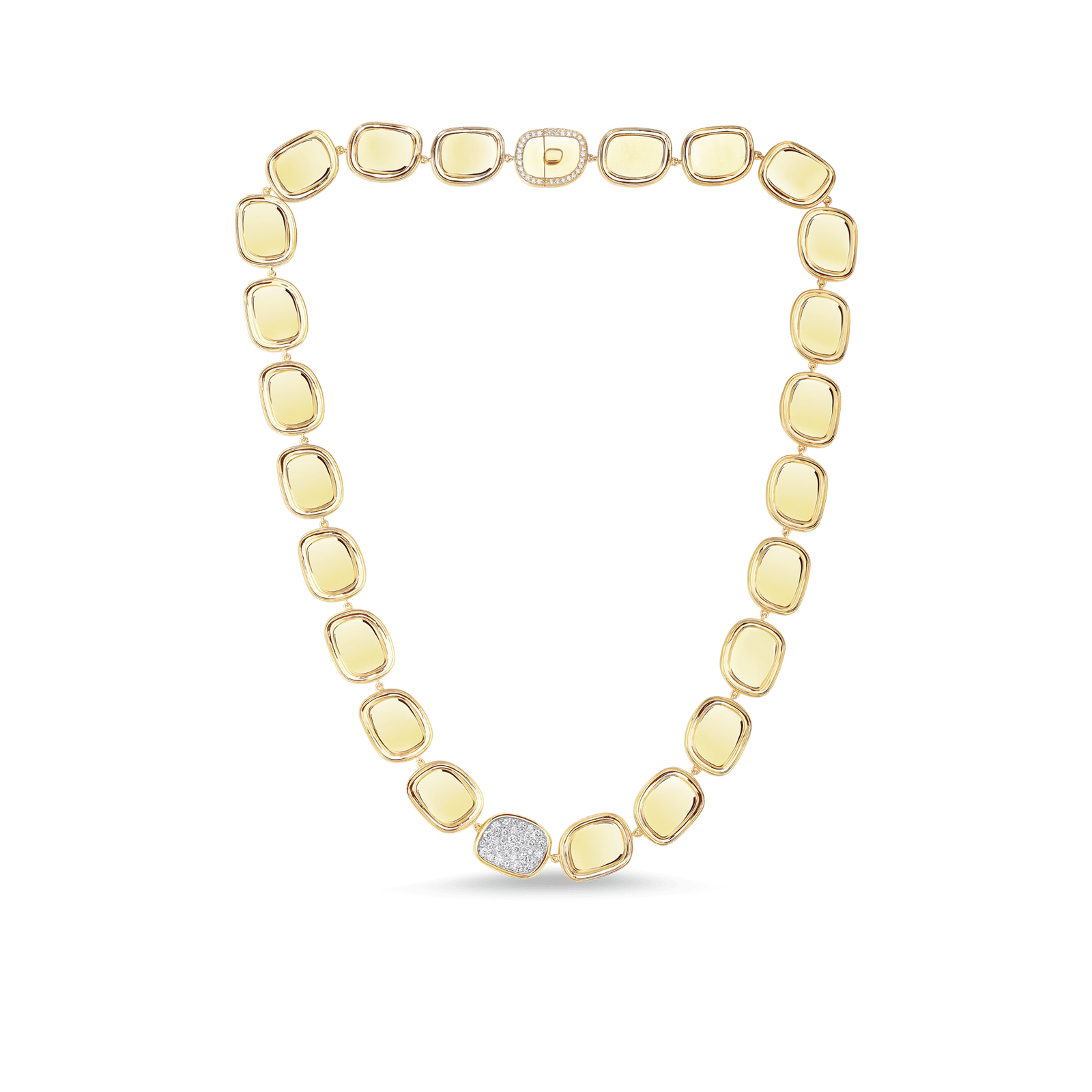 Necklace With Diamonds