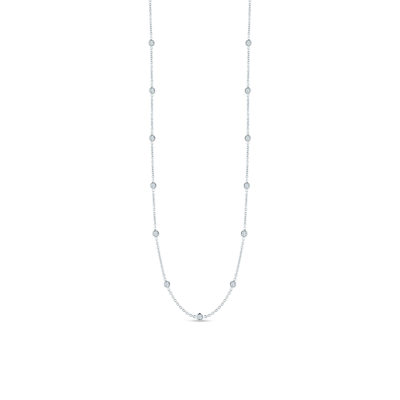 Roberto-Coin-Diamonds-by-the-Inch-18K-White-Gold-Necklace-with-19-Diamond-Stations-001157AW2119 copy