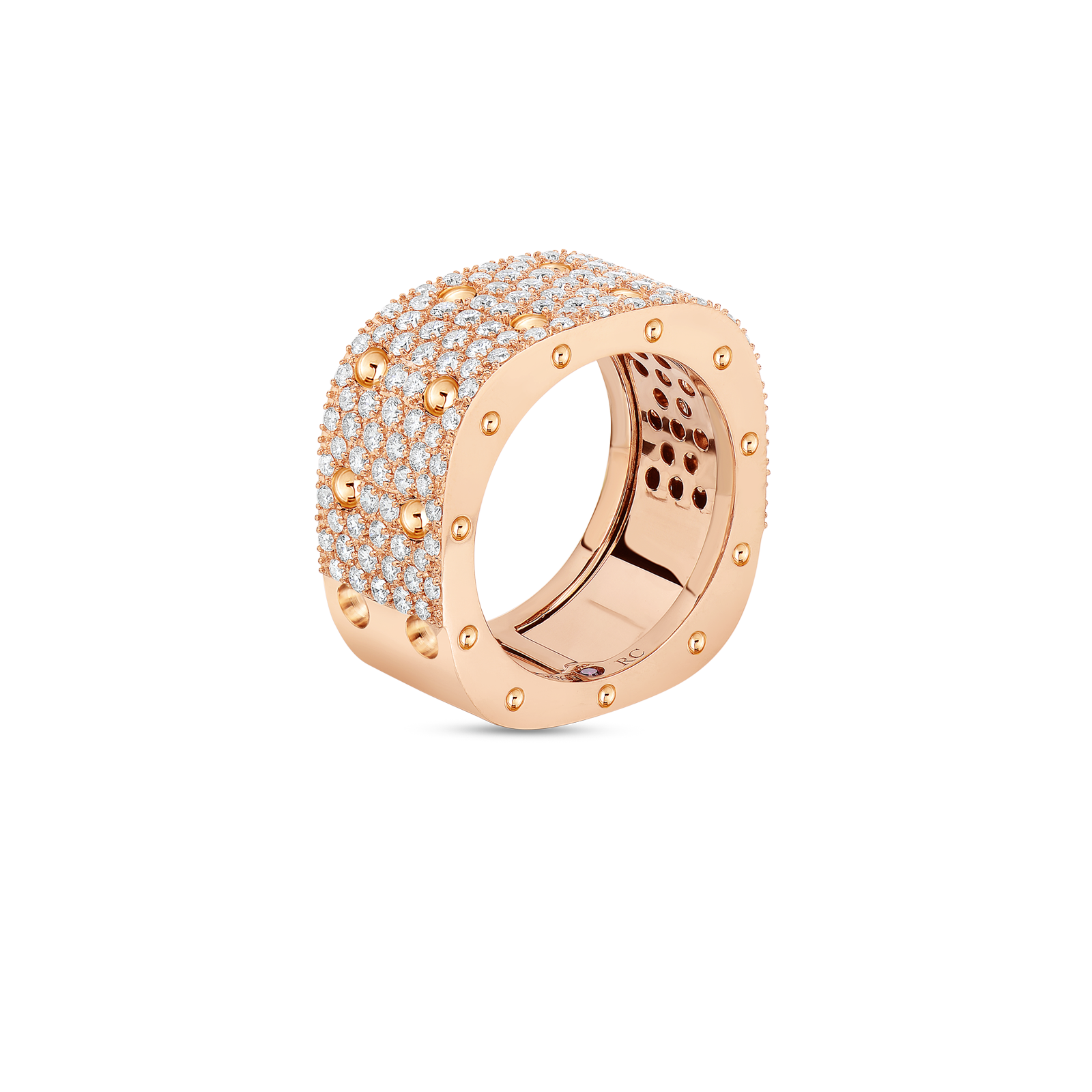 Roberto-Coin-Pois-Moi-18K-Rose-Gold-2-Row-Square-Ring-with-Diamonds-888705AX50X0_SIDE