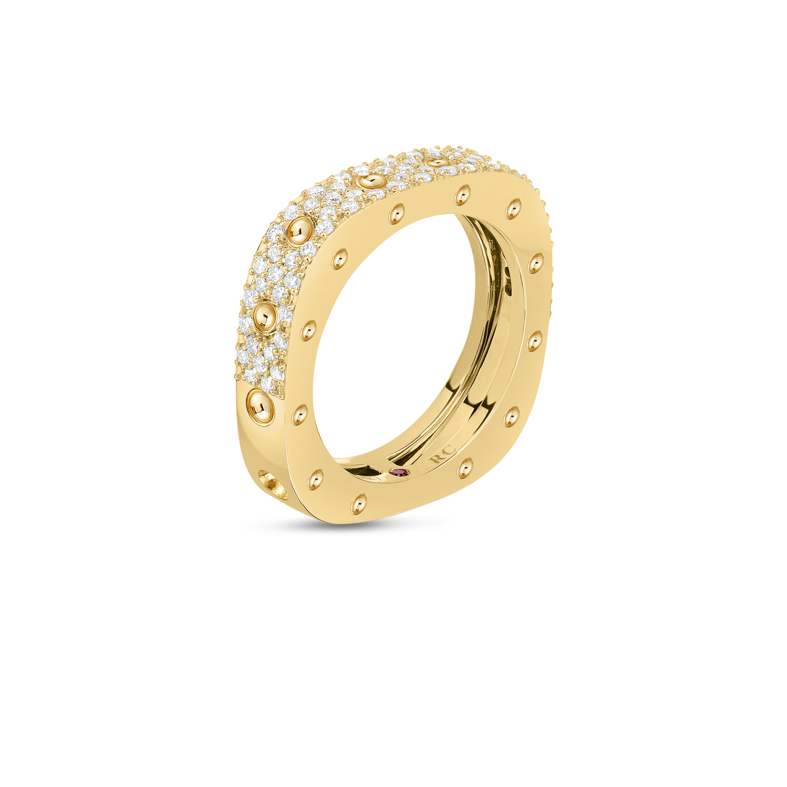 Roberto-Coin-Pois-Moi-18K-Yellow-Gold-1-Row-Square-Ring-with-Diamonds-888703AY55X0_SIDE