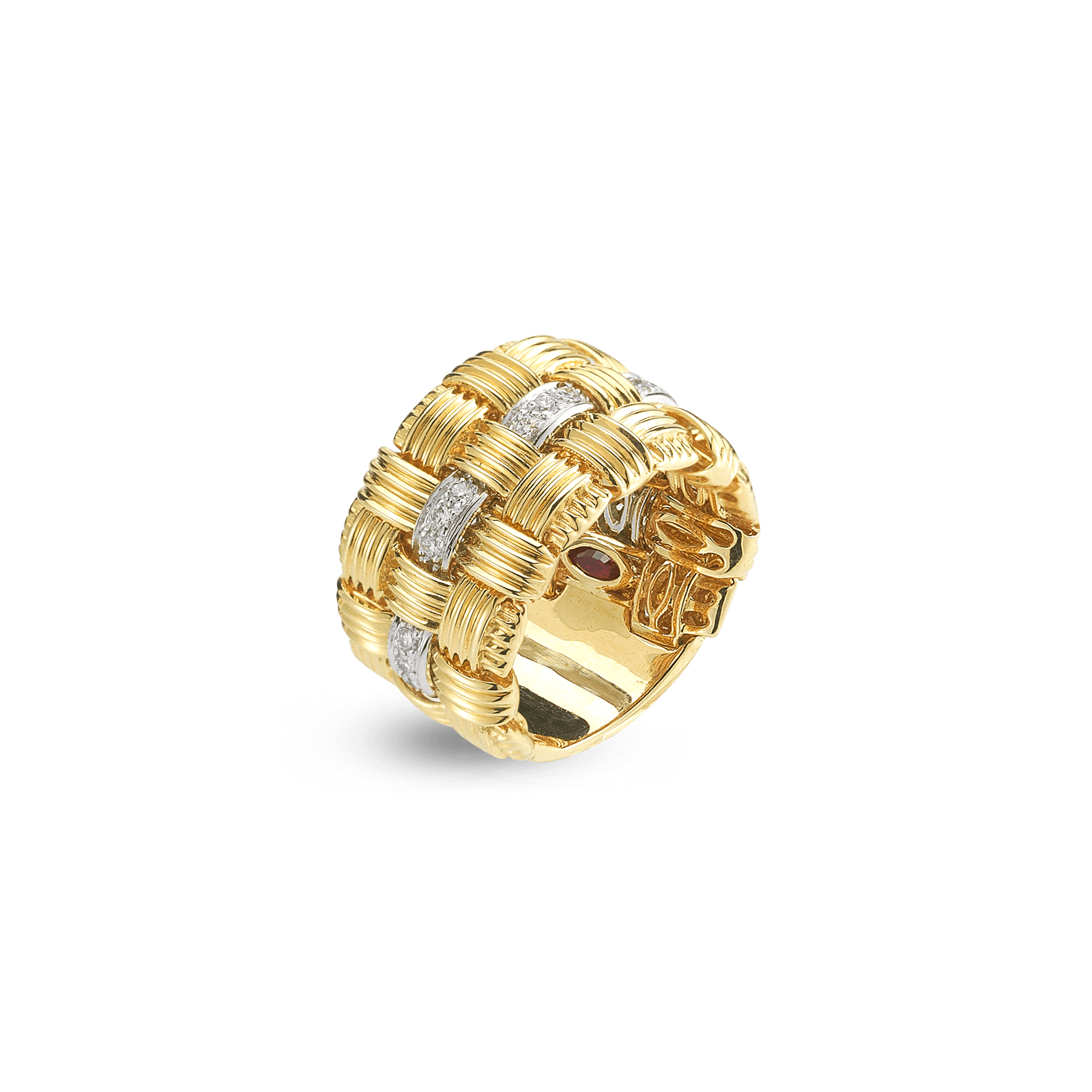 Roberto-Coin-Appassionata-18K-Yellow-Gold-and-18K-White-Gold-3-Row-Ring-with-Diamonds-639080AJLRD0_2