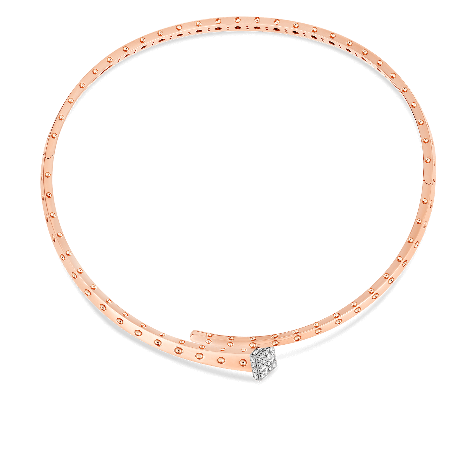 Roberto-Coin-18k-rose-gold-18k-white-gold-Chiodo-Collar-with-Diamonds-8882058AHCOXalt