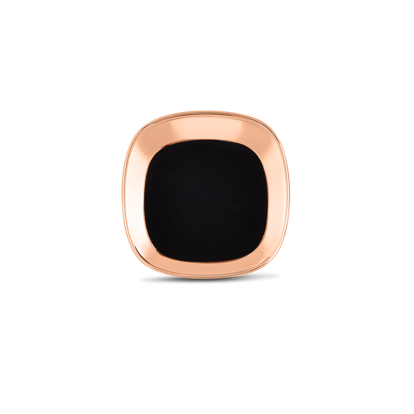 Roberto-Coin-18k-rose-gold-Small Ring with Black Jade-8882208AX65B
