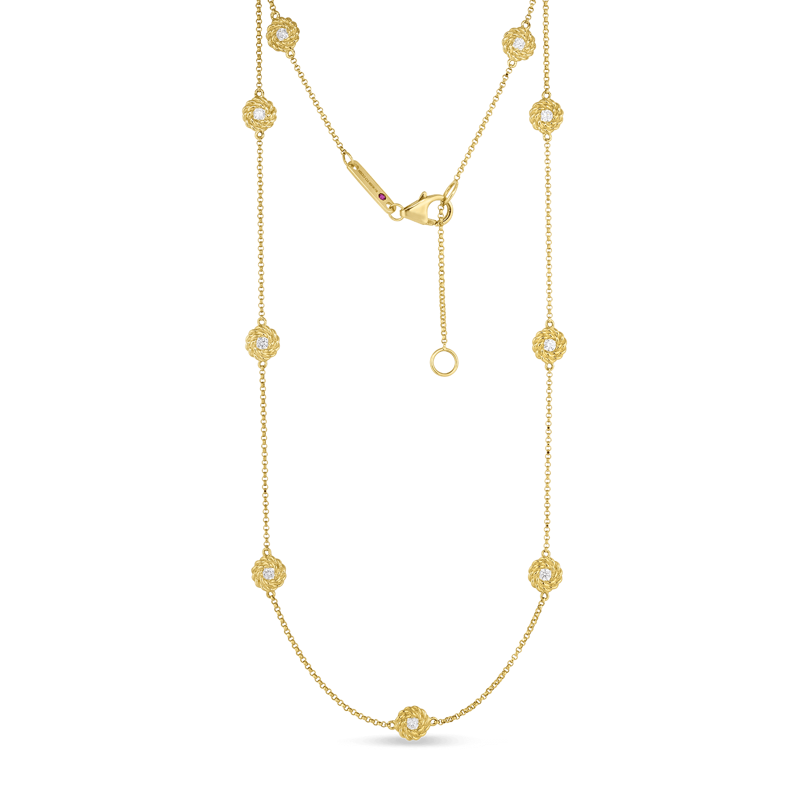 Roberto-Coin-18k-yellow-gold-Necklace-with-Diamond-Stations-7771330AYCHXalt