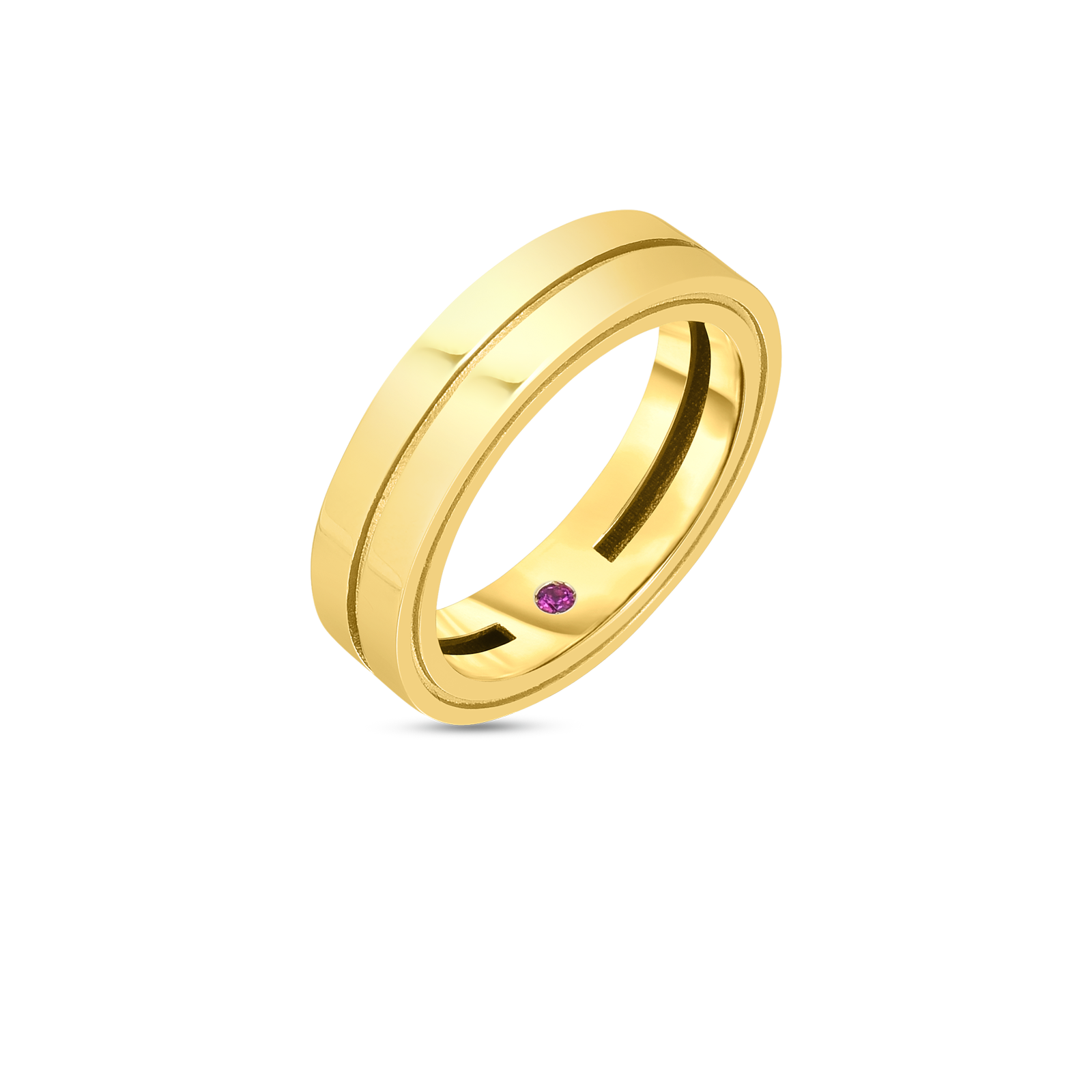 18k Double Row Portofino Band